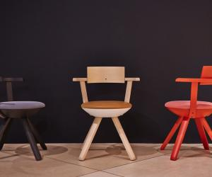 Rival armchair by Konstantin Grcic for Artek.