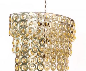 Liz Oval Crystal chandelier