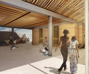 Francis Kéré won the Gold Holcim Award in 2012 for the Secondary School Gando in Burkina Faso.