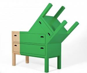The Doubleface Chest of Drawers by Ana Jimenez Palomar.