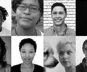 Top, left to right: Ackeem Ngwenya, Tia Blassingame, Tyler Pratt, Carla Kreuser; bottom, left to right: Teresa van Dongen, Doremy Diatta, Kathryn Fleming, Marc Dubois.