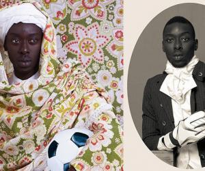 """""""Project Diaspora"""" by Omar Victor Diop."""