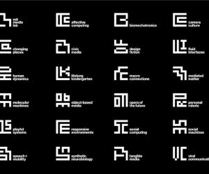 "One of Wired magazines ""27 of the Most Inspiring Designs From 2014"": Michael Bierut's overhaul of the MIT media lab logo."