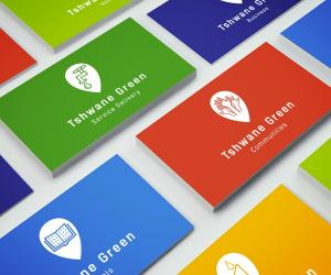 Tshwane Green Project logo and identity system designed by K&i Design Studio.