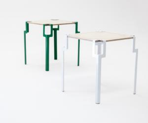 Pinda side table by Siyanda Mbele.