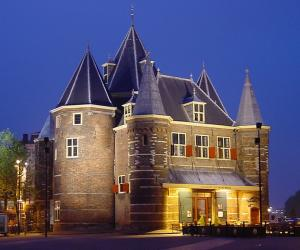 """Gare du Nord"" opens that the historical de Waag building in Amsterdam."