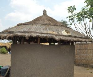 In praise of the vernacuar architecture of Africa: this mud hut in Malawi by Jon Sojkowski