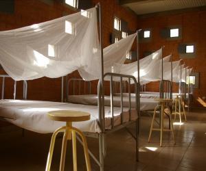 The Centre de Santé et de Promotion Sociale forms part of the Opera Village in Burkina Faso, photo by Kéré Architecture