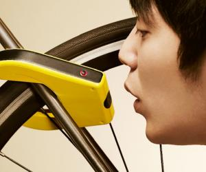 Alcoho-Lock bicycle lock and breathalyser