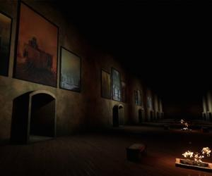Step into a virtual world of Zdzislaw Beksinski's paintings.