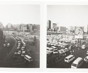 """""""Crossing Strangers"""", Andile Buka's first published work, is a photobook exploring Johannesburg and the people that live there."""