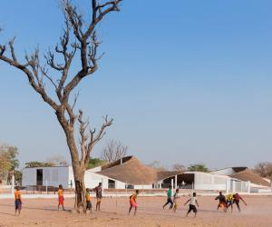The Sinthian Cultural Centre, built in the remote Senegalese village of Sinthian, is intended to be a centre where gatherings and cultural exchanges take place.