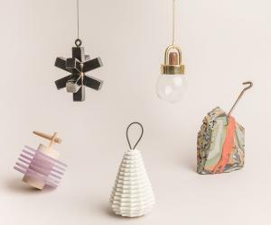 American designers teamed up to create a range of bespoke Christmas ornaments to raise funds for the Museum of Contemporary Art, Detroit.