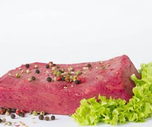 Dutch food technologists at the Vegetarian Butcher have mastered the recipe for a plant-based protein that mimics the taste and texture of a juicy steak.