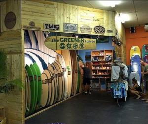 Greener surfer outlet