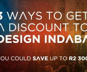 Claim back from your workplace skills levy, buy in a group or if you are a past exhibitor – if there's a will to be at Design Indaba, there's a way to get there.
