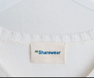 The ShareWear brand encourages borrowing rather than buying.