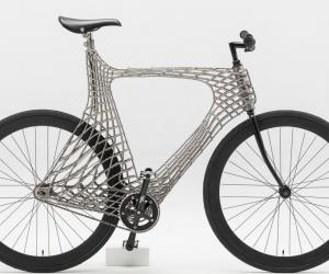 A team of students at the Delft University of Technology have printed the first stainless steel bike using a welding-based 3D-printing technique.