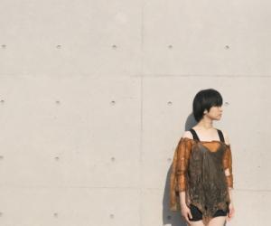 Bio grown textile designed by Kazuya Kawasaki.
