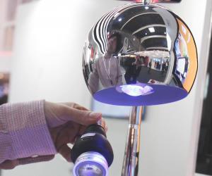Li-Fi lamp