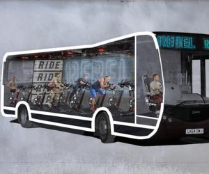 Ride2Rebel bus