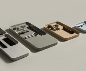 Ceramic trays by Benjamin Hubert & Layer Design