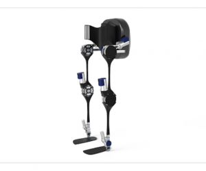 Project MARCH uses smart exoskeleton technology to enable paraplegics to stand up, walk and speak to people eye-to-eye