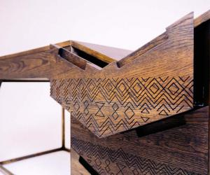 Mvelo desk by Siyanda Mbele. Photo credit: Michelle Reynolds