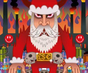 Santa Exposed by Pete Fowler