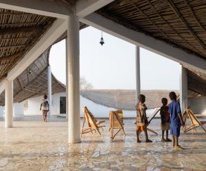 Cultural centre in Senegal by Toshiko Mori Architects