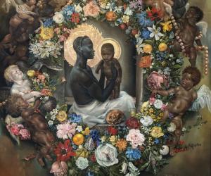 Harmonia Rosales' Birth of Eve