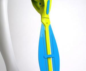 Neptune prosthetic fin by Richard Stark.