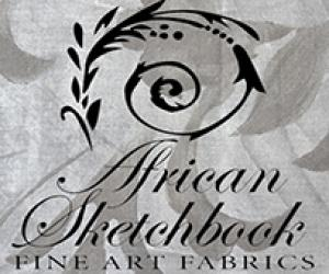 Profile images for African Sketchbook Fine Arts Fabrics.