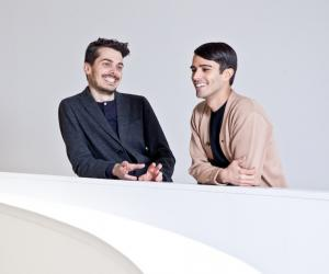 Simone Farresin and Andrea Trimarchi of Studio Formafantasma.
