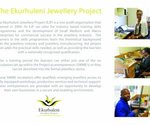 Ekurhuleni Jewellery Project.