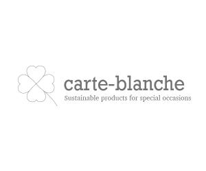 Carte-blanche is a range of sustainably-made products ideal for gifts.