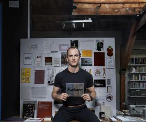 Airbnb founder Joe Gebbia