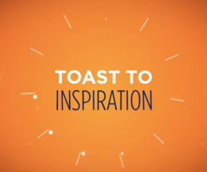 Toast to Inspiration by Lydia Baillergeau