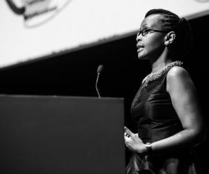 Juliana Rotich at Design Indaba Conference 2014.