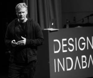 Dean Poole at Design Indaba Conference 2014.