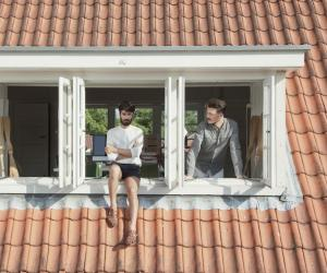 Andrea Trimarchi and Simone Farresin of Studio Formafantasma. Image: Federico Floriani.