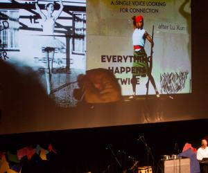 William Kentridge on peripheral thinking at Design Indaba 2015