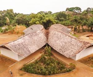 Ilima Primary School in DRC, designed by MASS.
