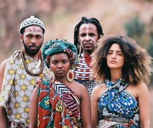 Batuk, a Pan-African collective pioneering a new tribal and electronic sound has debuted with a music video shot in the sparse Mozambican savannah.