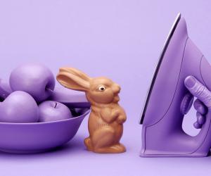 The Chocolate Bunny by Lernert & Sander