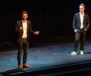Getsmarter's Sam & Rob Paddock at Design Indaba Festival 2018