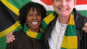 Boniswa Pezisa and Mike Schalit.