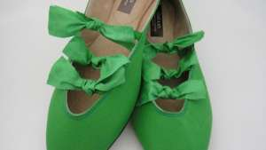 Bright green bow pump by Coast & Koi.