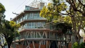 Nicolas San Juan apartment building by studio Taller 13.