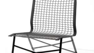 Tie-break chair by Bertjan Pot.